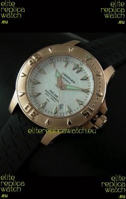 Chopard LUC Pro One Chronometer Swiss Replica Rose Gold Watch
