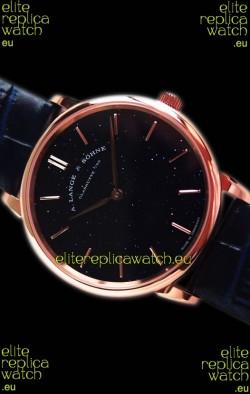 A.Lange Sohne Saxonia Thin Pink Gold Swiss Replica Watch