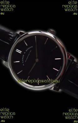 A.Lange Sohne Saxonia Thin Steel Case Replica Watch