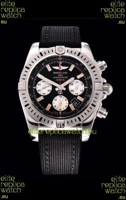 Breitling Chronomat Airbone 1:1 Mirror Replica Watch in Black Dial