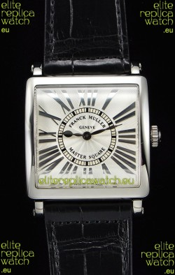 Franck Muller Master Square Ladies Black Strap 1:1 Mirror Replica Watch
