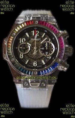 Hublot Big Bang UNICO Sapphire Rainbow Swiss Replica Watch