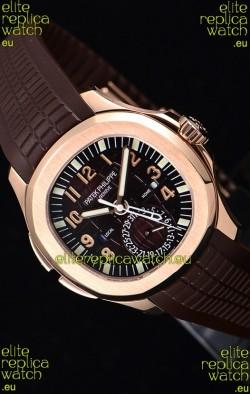 Patek Philippe Aquanaut 5164R 1:1 Mirror Watch Brown Dial