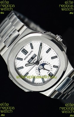 Patek Philippe Nautilus 5726A 1:1 Mirror Swiss Watch White Dial