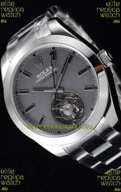 Rolex Milgauss LABELNOIR Tourbillon Swiss Replica Watch Steel Case