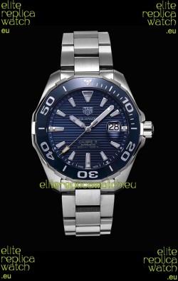 Tag Heuer Aquaracer Calibre 5 1:1 Mirror Replica Watch Blue Dial