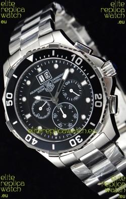Tag Heuer Aquaracer Chronograph Swiss Quartz Black Dial Watch