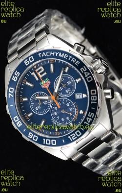 Tag Heuer Formula 1 Chronograph Swiss Quartz Replica Watch Blue Dial