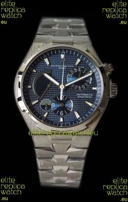 Vacheron Constantin Overseas Dual Time Blue Dial Swiss Watch