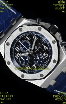 "Audemars Piguet Royal Oak Offshore Chronograph ""The Real Batman""  1:1 Mirror 904L Steel Watch"