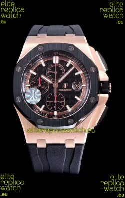 Audemars Piguet Royal Oak Offshore Méga Tapisserie Dial 1:1 904L Steel Watch
