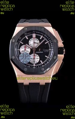Audemars Piguet Royal Oak Offshore 44MM Pink Gold 1:1 Mirror 904L Steel Watch
