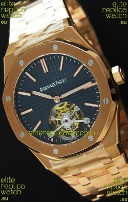 Audemars Piguet Royal Oak Tourbillon 41mm Extra-Thin Dark Blue Dial Watch