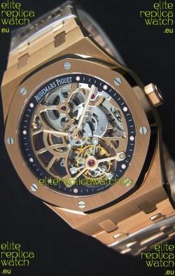 Audemars Piguet Royal Oak Tourbillon Extra-Thin Openworked Rose Gold Watch