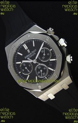Audemars Piguet Royal Oak Chronograph Black Dial - 1:1 Mirror Replica Watch