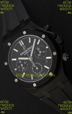 Audemars Piguet Royal Oak Chronograph Black Dial Swiss Replica Watch
