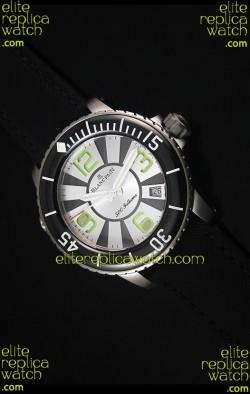Blancpain 500 Fathoms Swiss Replica Watch in White Dial - 1:1 Mirror Edition