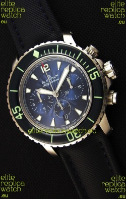 Blancpain Blancpain Fifty Fathoms Chronograph Flyback Blue 1:1 Mirror Replica Watch