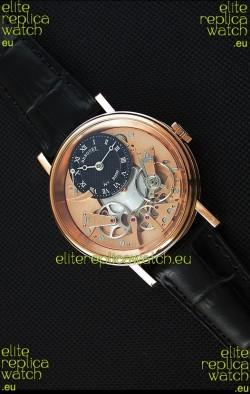 Breguet Tradition 7057BR/R9/9W6 Pink Gold Dual Tourbillon Swiss Replica Watch