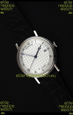 Breguet Classique 5177BB/12/9V6 Stainless Steel Watch with Roman Hour Markers