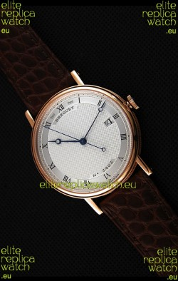 Breguet Classique 5177BR/15/9V6 Rose Gold Watch with Roman Hour Markers