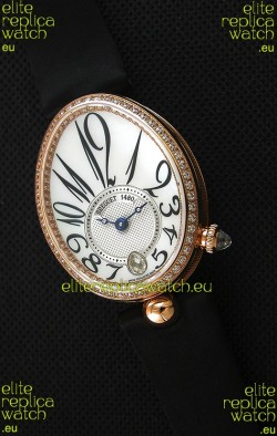 Breguet Reine De Naples Ladies Swiss 1:1  Rose Gold Replica Watch