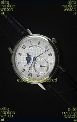 Breguet Classique Moonphase Stainless Steel Swiss Replica Watch
