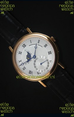 Breguet Classique Moonphase Rose Gold Swiss Replica Watch