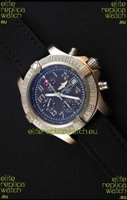 Breitling Avenger Titanium Case Swiss Replica Watch Black Dial 1:1 Mirror Replica Watch