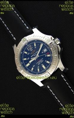 Breitling Chronometre COLT 41 Blue Dial Swiss Automatic Replica Watch