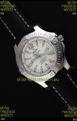 Breitling Chronometre COLT 41 White Dial Swiss Automatic Replica Watch