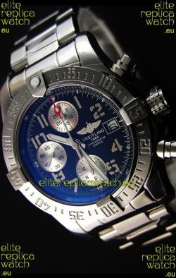 Breitling Skyland Avenger Chronograph Swiss Replica Watch Black Dial 1:1 Mirror Replica
