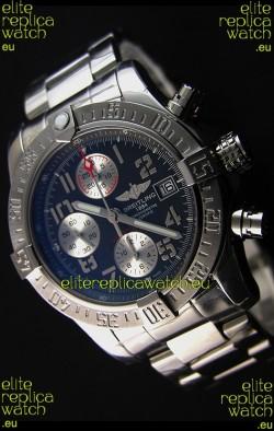 Breitling Skyland Avenger Chronograph Swiss Replica Watch Dark Grey Dial 1:1 Mirror Replica