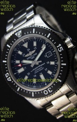 Breitling SuperOcean 44 Special Steel Swiss Replica Watch with Steel Strap