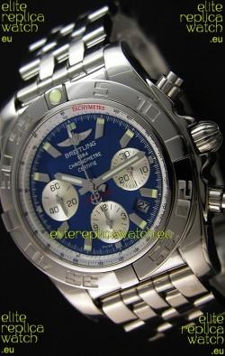 Breitling Chronomat B01 Blue Dial Swiss Replica Watch 1:1 Mirror Replica Edition