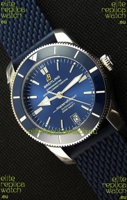 Breitling SuperOcean Heritage II B20 42MM Blue Dial Swiss Replica Watch - 1:1 Mirror Edition