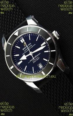 Breitling SuperOcean Heritage II B20 42MM Black Dial Swiss Replica Watch - 1:1 Mirror Edition