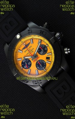 Breitling Chronomat B01 Blacksteel Swiss Replica Watch 1:1 Mirror Ultimate Replica