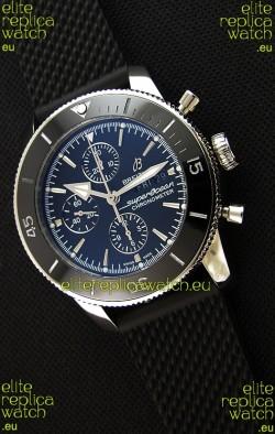 Breitling Superocean Heritage II Black Dial 46MM 1:1 Mirror Swiss Replica Watch