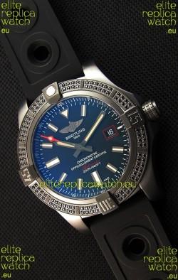 Breitling Avenger Blackbird 44 1:1 Mirror Replica Watch with Diamonds