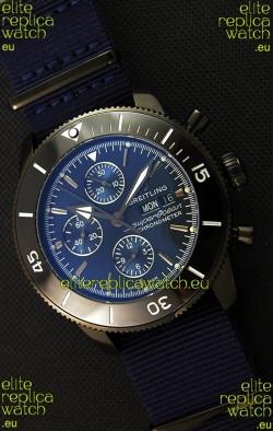 Breitling Superocean Heritage II Outerknown Blacksteel NATO Strap 1:1 Mirror Replica Watch