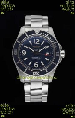 Breitling Superocean Automatic 44 Steel - Navy Blue Dial 1:1 Mirror Replica