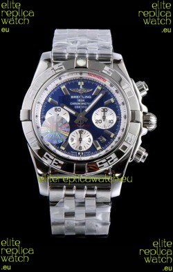 Breitling Chronomat B01 Blue Dial 904L Steel Swiss 1:1 Mirror Replica Watch