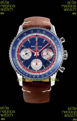 Breitling Navitimer 1 B01 Chronograph PAN AM Edition 43MM - 904L 1:1 Mirror Replica Watch