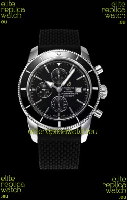 Breitling SuperOcean Heritage II 44MM Black Dial Swiss Replica Watch