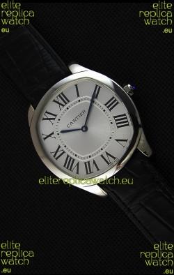 """Cartier """"Drive de Cartier"""" Mechanical Swiss Quartz Replica Watch 40MM"""
