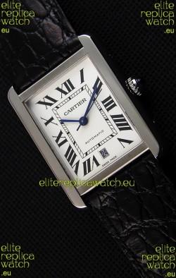 Cartier Tank Solo Swiss Automatic Watch in Steel Strap 31MM Wide