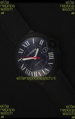 Cartier Ballon Bleu 42MM DLC Coated Swiss Replica Watch