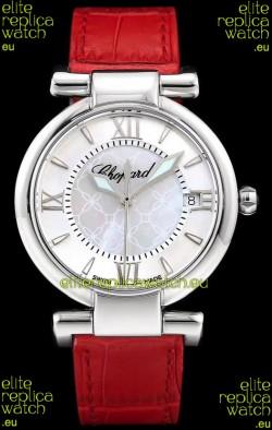 Chopard Imperiale White Dial Swiss Automatic Replica Watch in 904L Steel