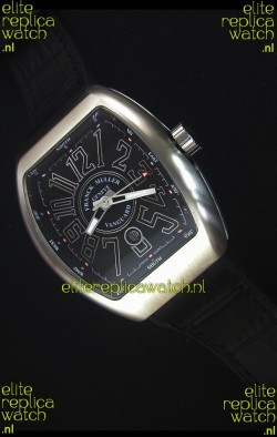 Franck Muller Vanguard Swiss Replica Watch in Stainless Steel Case